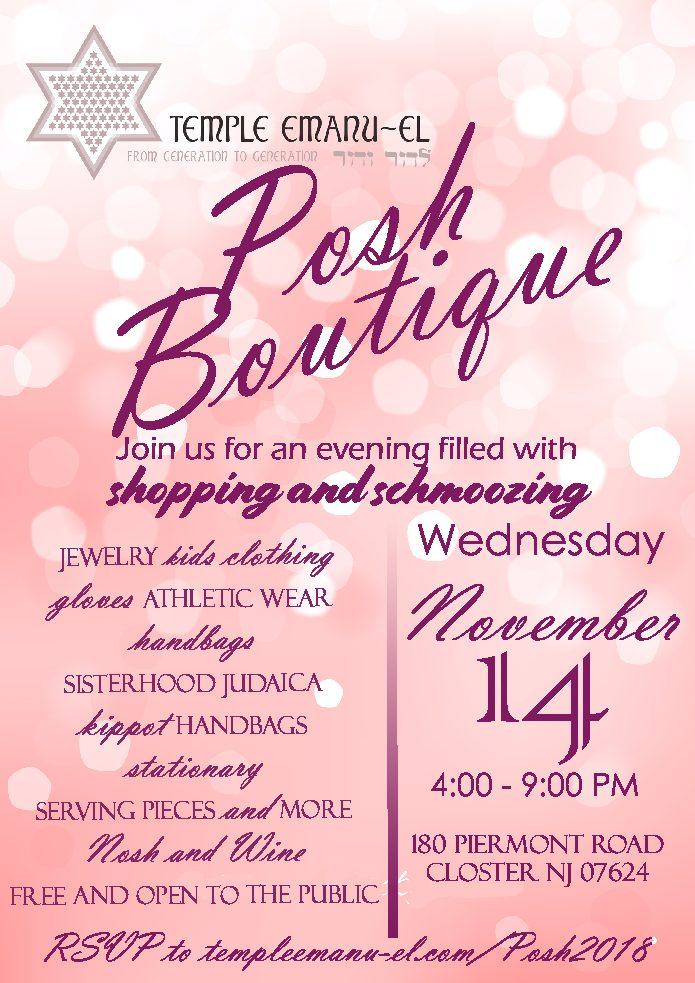 Posh Boutique 2018
